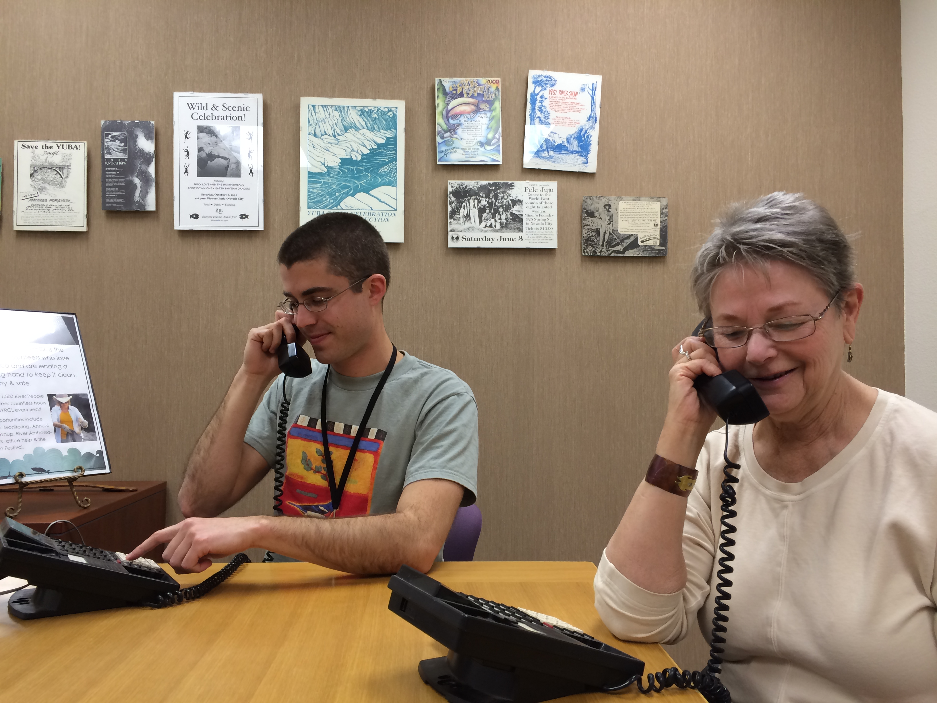 phonebank volunteers