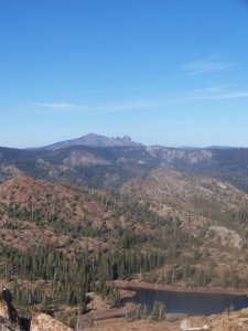 View of Sierra Buttes from Penner Peak (photo by Miriam Limov)