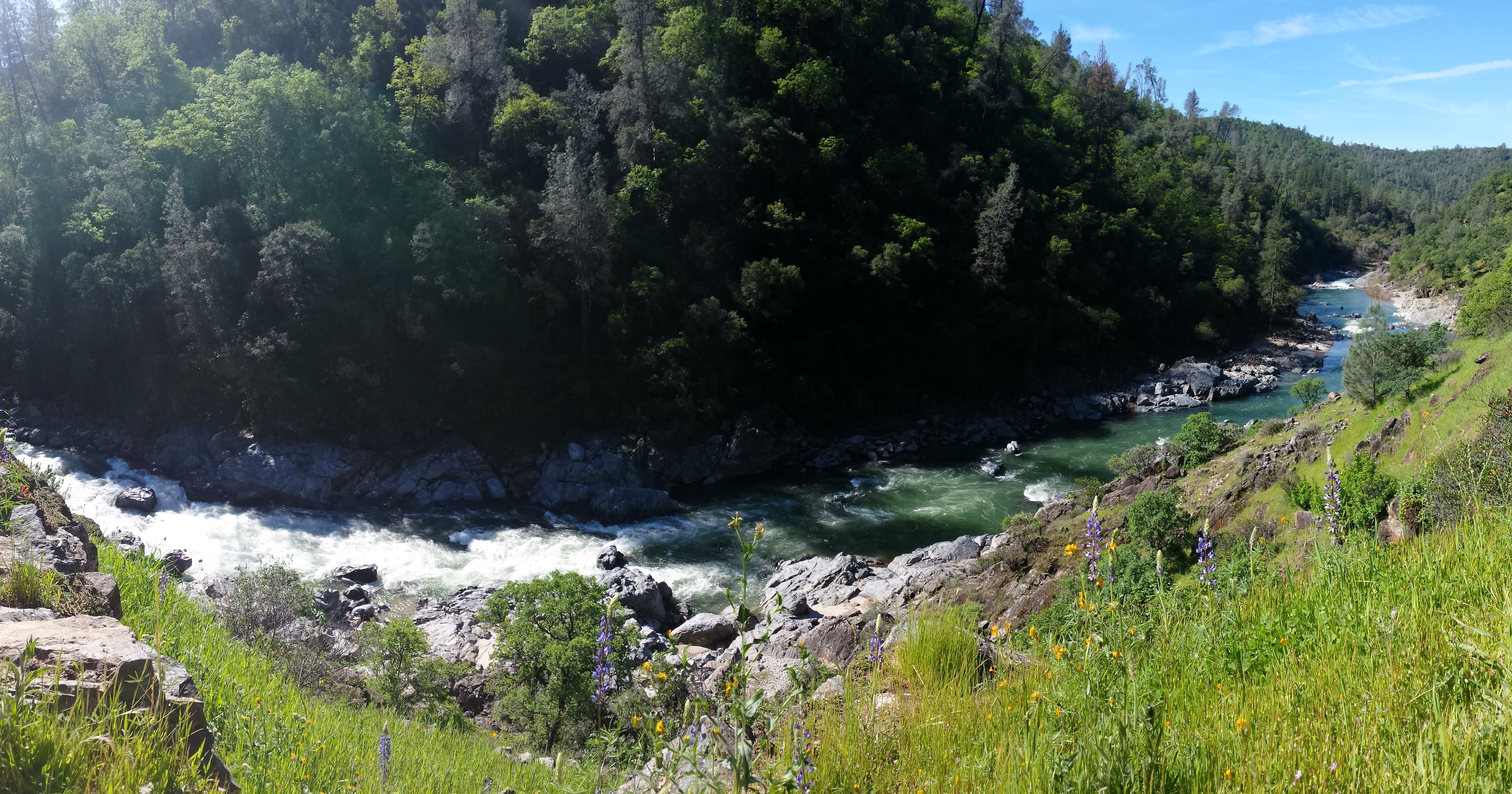 Buttermilk Bend, South Yuba River. Photo by Carrie Hoffer