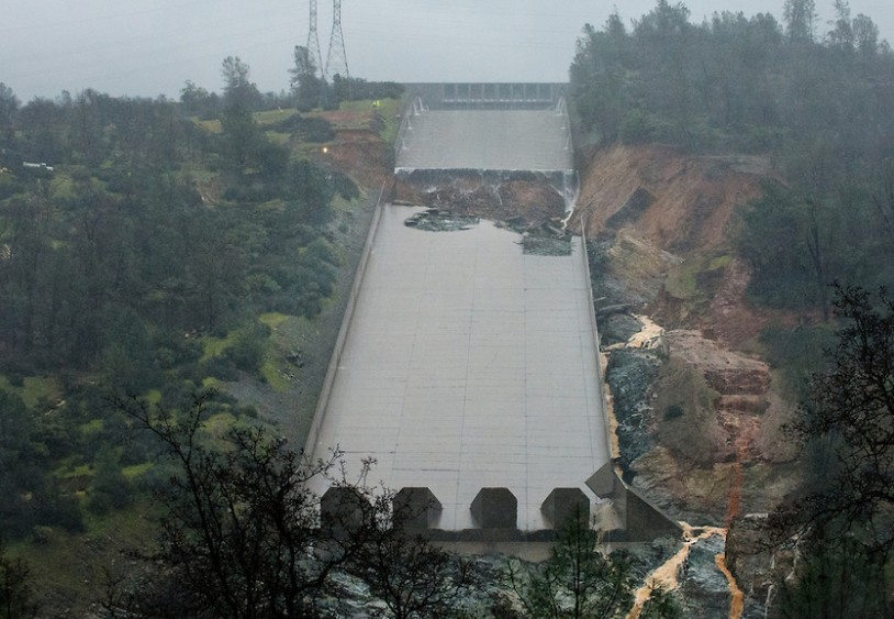 Oroville Dam Spillway Crisis South Yuba River Citizens