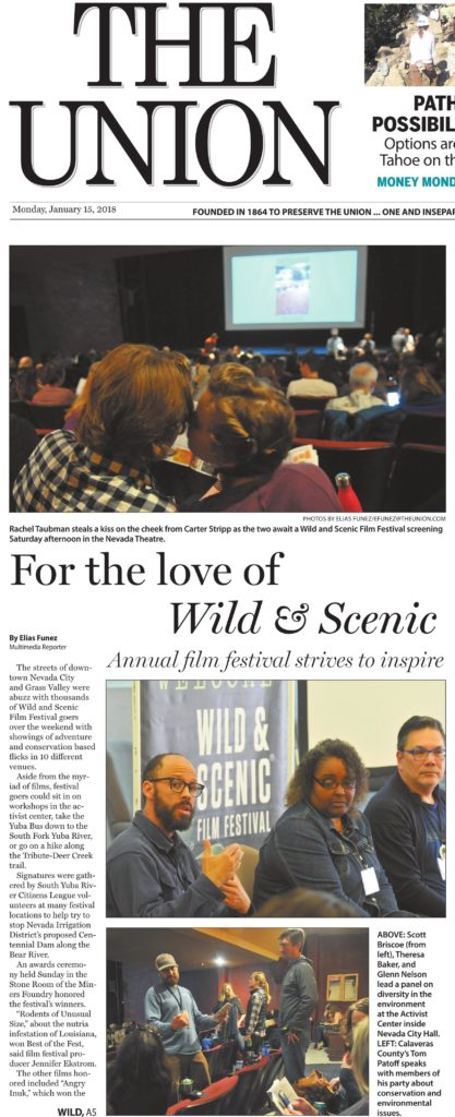 In the News 2018 | South Yuba River Citizens League