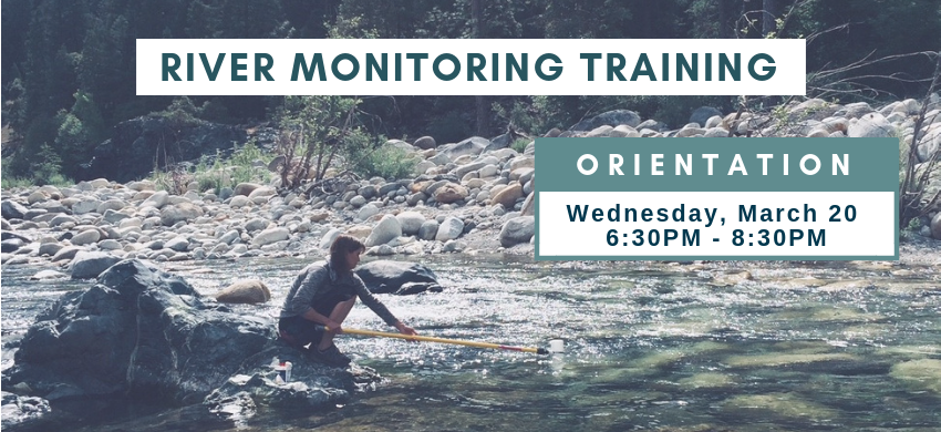 River Monitoring Orientation